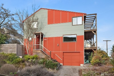 Seattle Single Family Home For Sale: 354 N 72nd St