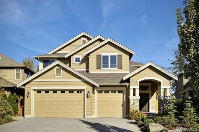 Sammamish Single Family Home For Sale: 1316 267th Place SE