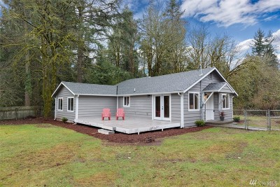 Port Orchard Single Family Home For Sale: 2852 Woods Rd E