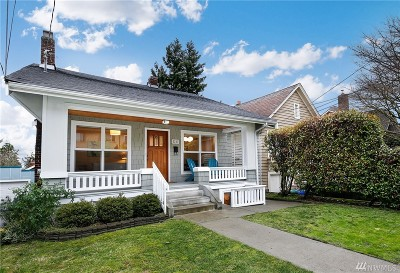 Seattle Single Family Home For Sale: 5217 Palatine Ave N