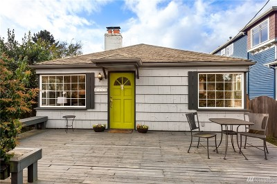 Seattle Single Family Home For Sale: 4315 32nd Ave W