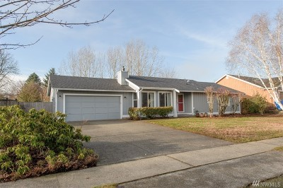 Thurston County Single Family Home For Sale: 1037 Rockcress Dr SE