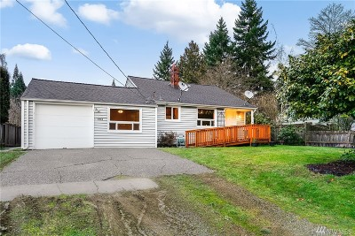 Seattle Single Family Home For Sale: 3910 NE 135th St