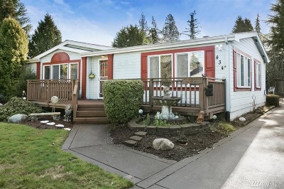 Everett Single Family Home For Sale: 434 90th St SW