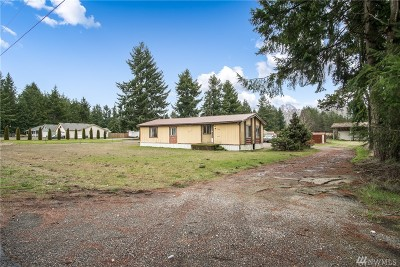 Rochester WA Single Family Home For Sale: $199,000