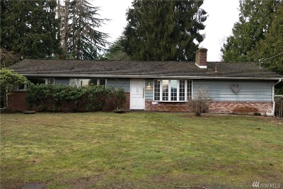 King County Single Family Home For Sale: 14075 35th Ave S