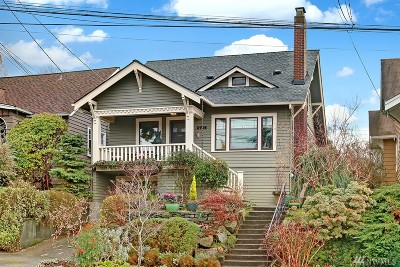 Seattle Single Family Home For Sale: 5706 26th Ave NE
