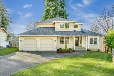 Kent Single Family Home For Sale: 21439 96th Ave S