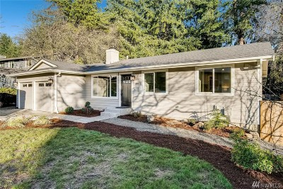 Kirkland Single Family Home For Sale: 12824 97th Place NE