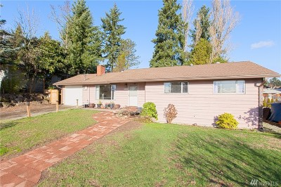 SeaTac Single Family Home For Sale: 4310 S 181st St