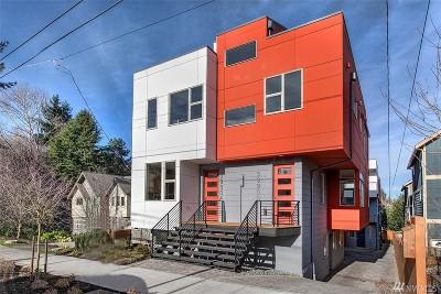 Seattle Single Family Home For Sale: 3930 S Brandon St #B