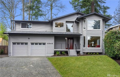 Issaquah Single Family Home For Sale: 4545 187th Place SE