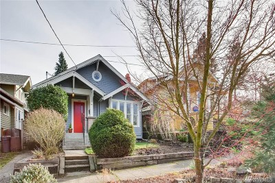 Seattle Single Family Home For Sale: 4806 Woodlawn Ave N