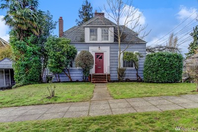 Seattle Single Family Home For Sale: 5721 Greenwood Ave N