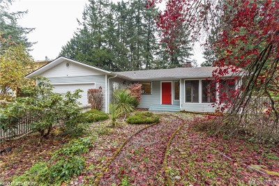 Port Orchard Single Family Home For Sale: 4452 Meadow Place SE