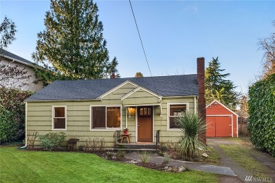 Seattle Single Family Home For Sale: 12527 Dayton Ave N