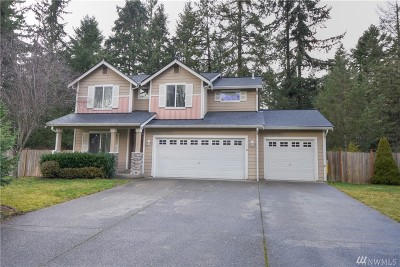 Spanaway Single Family Home For Sale: 2207 143rd St Ct S