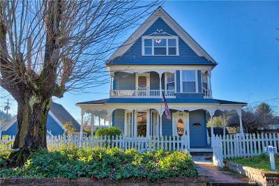 Buckley Single Family Home For Sale: 206 N Emery St