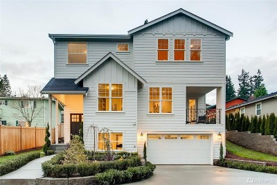 Kirkland Single Family Home For Sale: 12803 NE 112th St