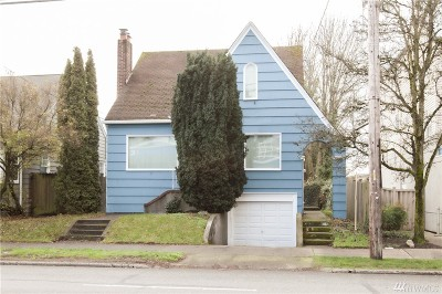Seattle Single Family Home For Sale: 2411 NE 65 St