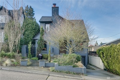 Seattle Single Family Home For Sale: 2459 Nob Hill Ave N