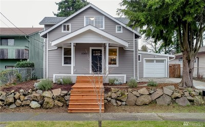Seattle Single Family Home For Sale: 10426 63rd Ave S