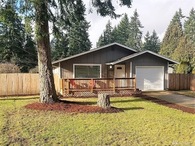 Port Orchard Single Family Home For Sale: 11376 Gable Ave SW