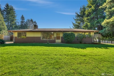 Renton Single Family Home For Sale: 15005 SE 112th St