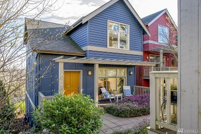 Seattle Single Family Home For Sale: 2369 S McClellan St