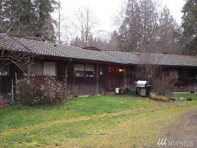Shelton Single Family Home For Sale: 61 E Kitwillips
