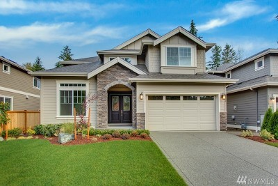 Sammamish Single Family Home For Sale: 24210 SE 30th St #Lot 2