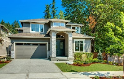 Sammamish Single Family Home For Sale: 24216 SE 30th St #Lot 3