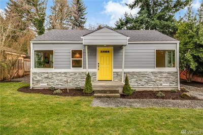 Seattle Single Family Home For Sale: 11704 40th Ave NE