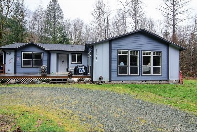 Snohomish County Single Family Home For Sale: 25016 Clear Creek Road