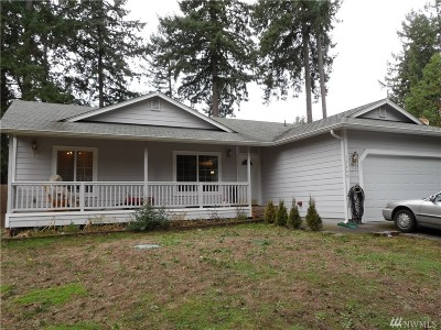 Yelm WA Single Family Home For Sale: $209,900
