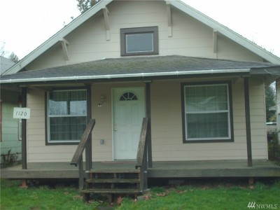Centralia Single Family Home For Sale: 1120 S Tower St