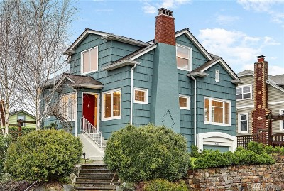 Seattle Single Family Home For Sale: 3202 E Pike St