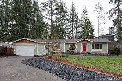 Thurston County Single Family Home For Sale: 2415 92nd Ct SE