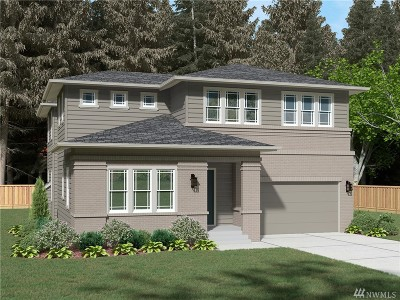 Bothell Single Family Home Contingent: 21634 35th Ave SE #Lot20