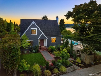 Seattle Single Family Home For Sale: 4511 NE 38th St