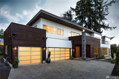 Medina Single Family Home For Sale: 1425 80th Ave NE