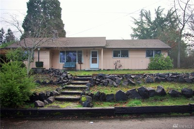 Thurston County Single Family Home For Sale: 1318 Stillwell St NE