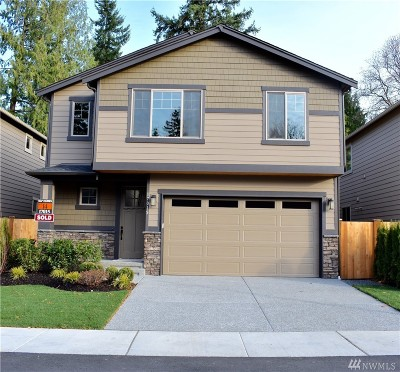 Snohomish County Condo/Townhouse For Sale: 15328 50th Place W