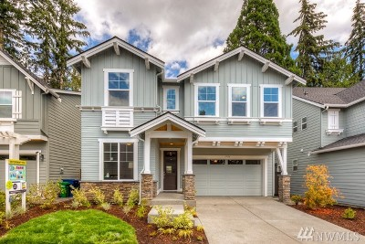 Bothell Single Family Home For Sale: 19036 84th (Lot #6) Place NE