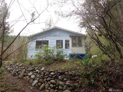 Brinnon Single Family Home For Sale: 308762 Highway 101