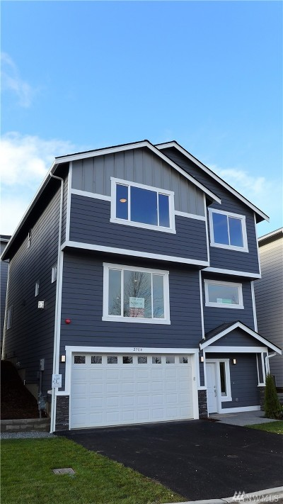 Burien Single Family Home For Sale: 2704 S 120th Place #Lot 9
