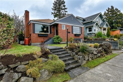 Seattle Single Family Home For Sale: 3036 NW 73rd St