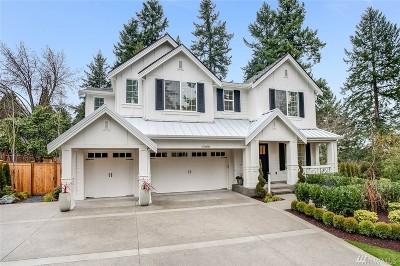 Bellevue Single Family Home For Sale: 10816 SE 14th St