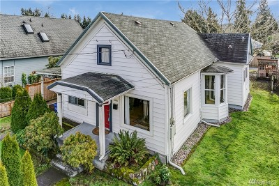 Puyallup Single Family Home For Sale: 606 4th Ave NE