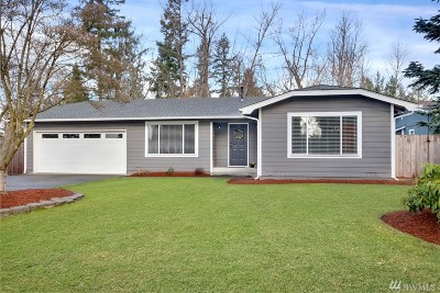Pierce County Single Family Home For Sale: 20725 83rd St Ct E